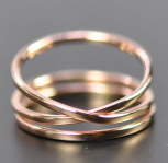 Infinity ring by Seababejewelry on Etsy