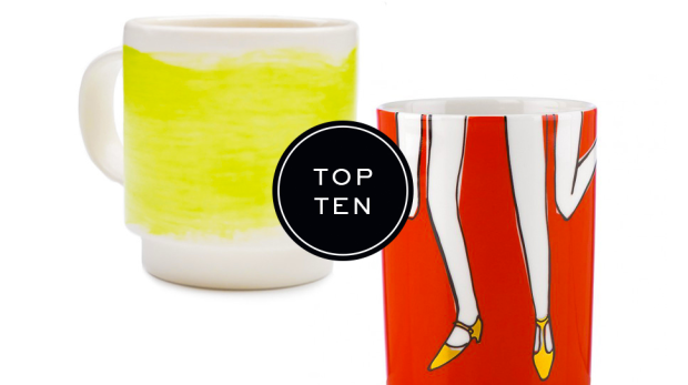 10 Coffee mugs picked by DomaineHome.com