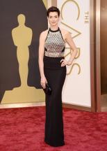 Oscars Fashion, Anne Hathaway