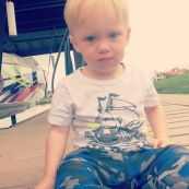 Preston on dock