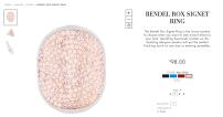 Bendel Rox Signet Ring: $98.00